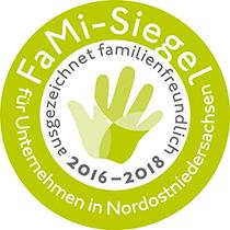 TACKENBERG mit FaMi-Siegel ausgezeichnet