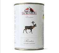 Tackenberg - Rentier mit Nudeln und Erbsen [220820001] 200 g
