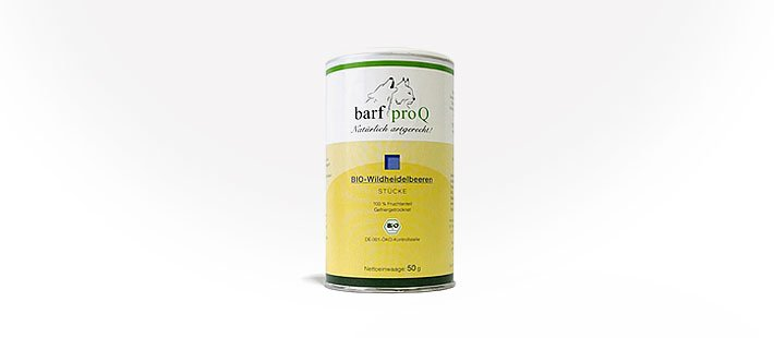 Barf proQ Bio-Wildheidelbeeren 50 g