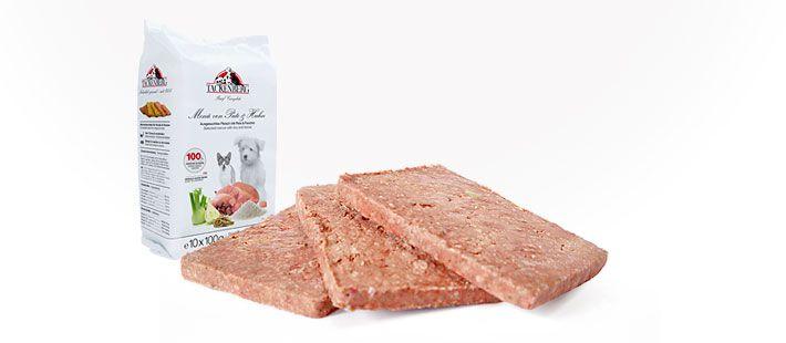 Barf Complete - Menü von Pute und Huhn 10 x 100 g