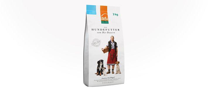 Defu Junior, Geflügel Bio-Trockenfutter 3 kg