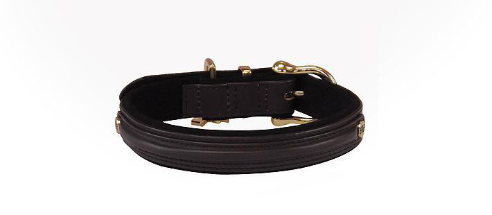 Halsbänder HH-Luxe, Schwarz