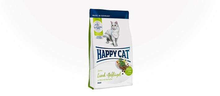 Happy Cat La Cuisine Land-Geflügel 4 kg