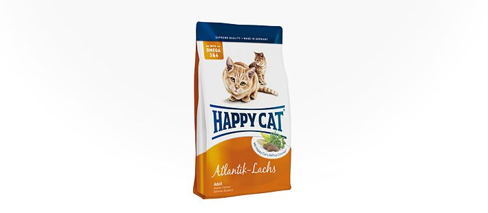 Happy Cat Supreme Adult Atlantik-Lachs 4 kg