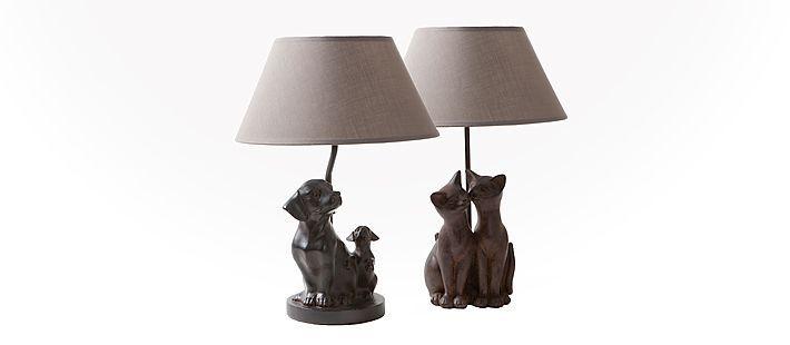 Tischlampe Hund/Katze