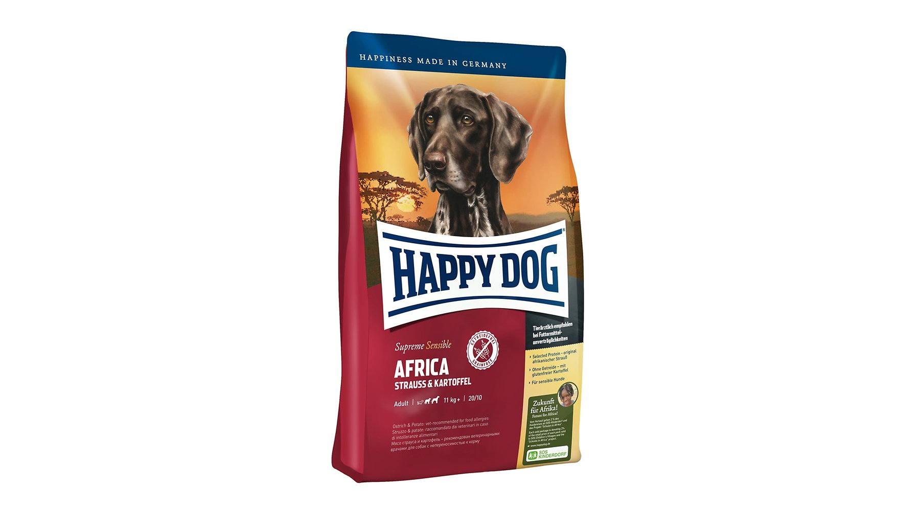 Produkt Bild Happy Dog Supreme Sensible Africa